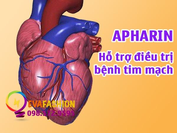 Apharin giúp hạ mỡ máu và bền thành mạch