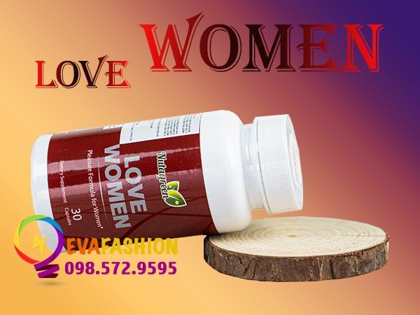 Love Women thuốc tăng sinh lý nữ có tốt không hay là lừa đảo? Giá bán?