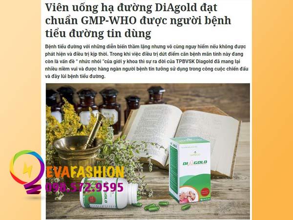 Báo nói về DiAgold
