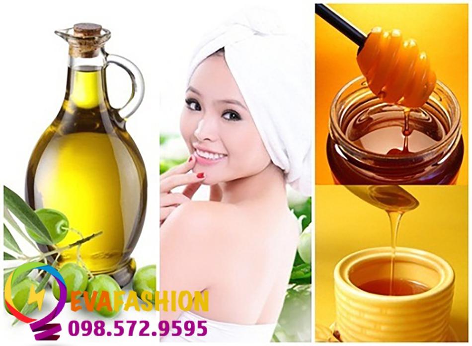 Trị da khô bằng mật ong và olive