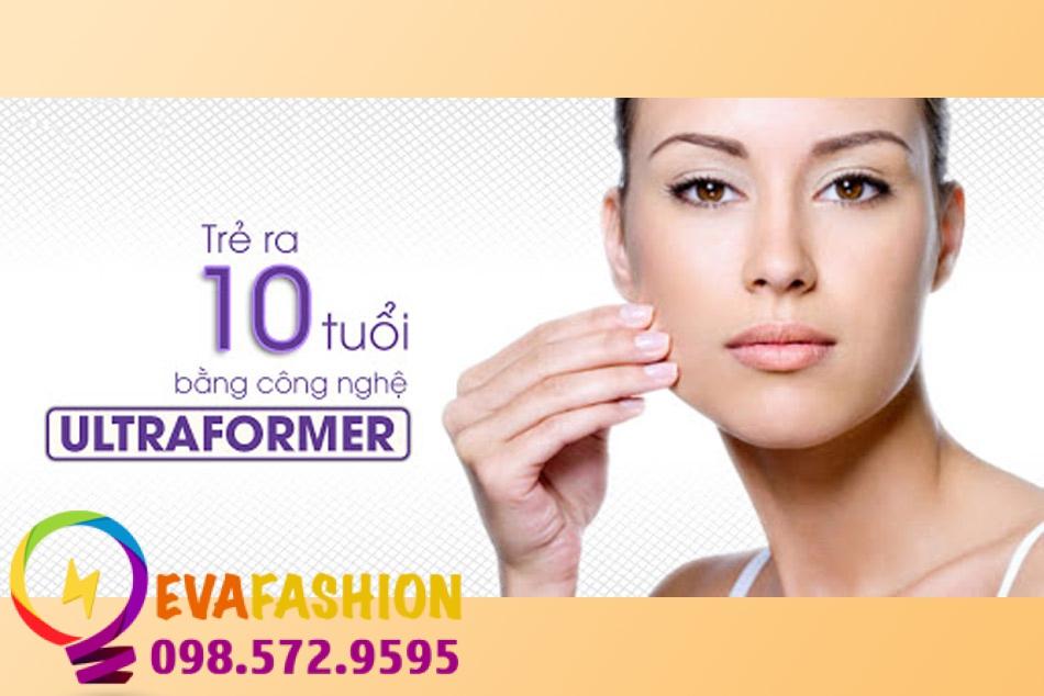Trẻ hóa làn da với công nghệ HIFU Ultraformer chống chảy xệ mặt