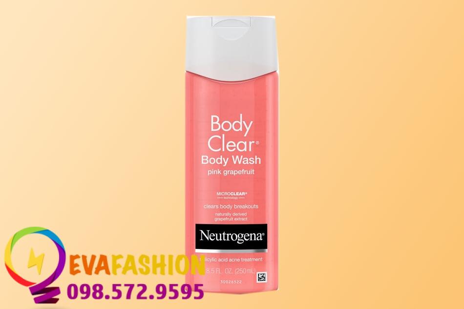 Sữa tắm đặc trị mụn Neutrogenana Body Clear