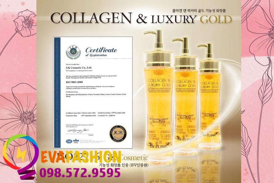 Sản phẩm Collagen Luxury Gold chính hãng