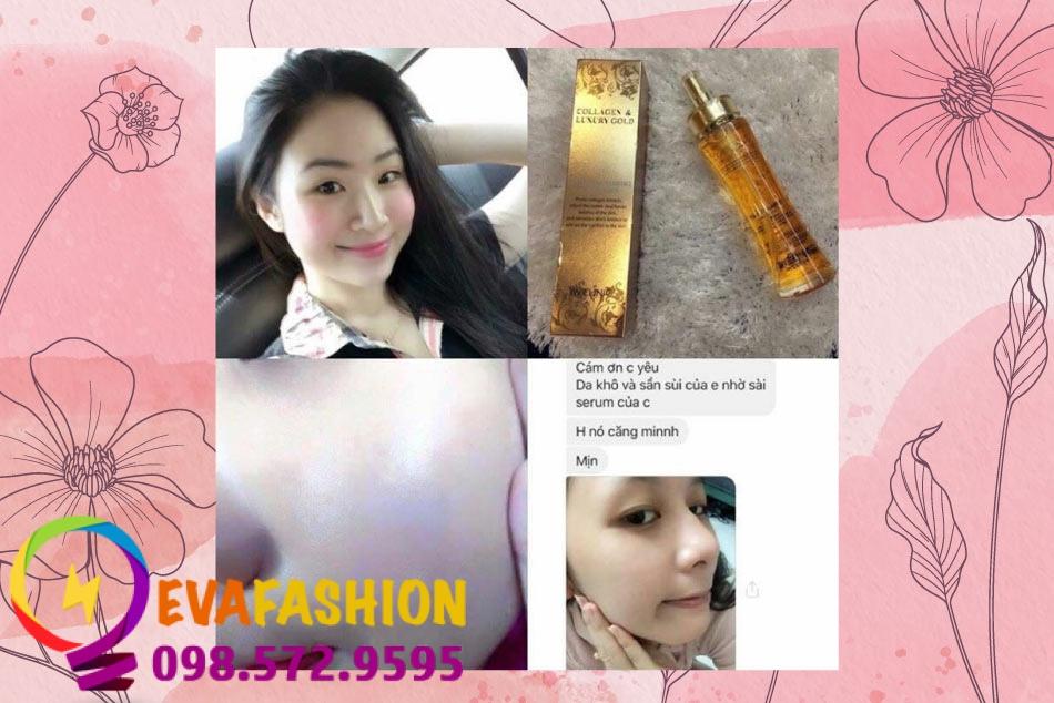 Review từ người sử dụng sản phẩm Collagen Luxury Gold
