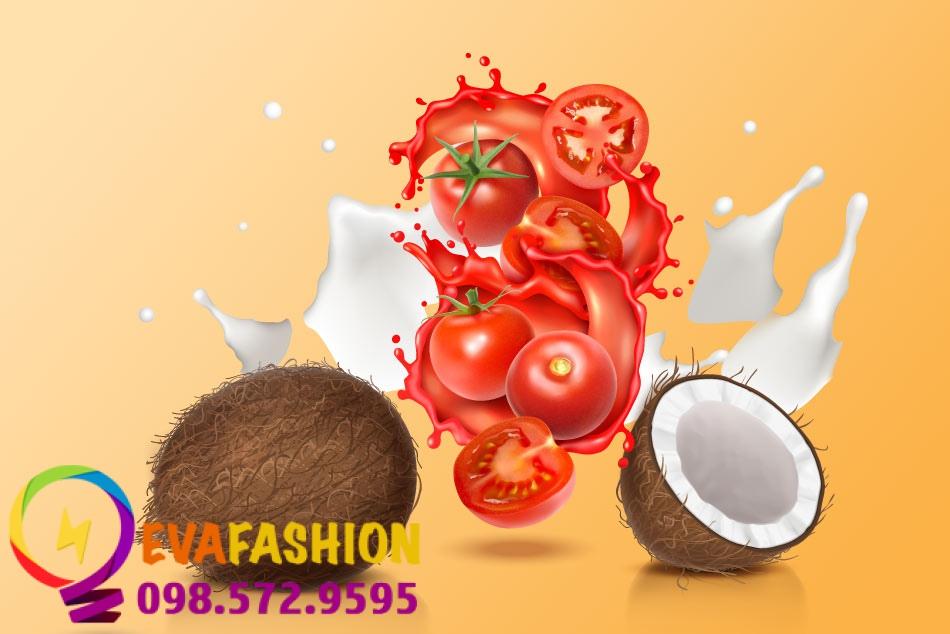 Cách làm son dưỡng từ dầu dừa và cà chua
