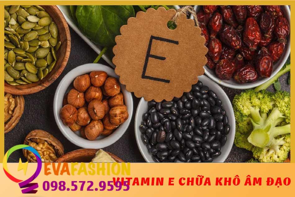 Vitamin E giúp giảm khôn hạn vùng kín hiệu quả
