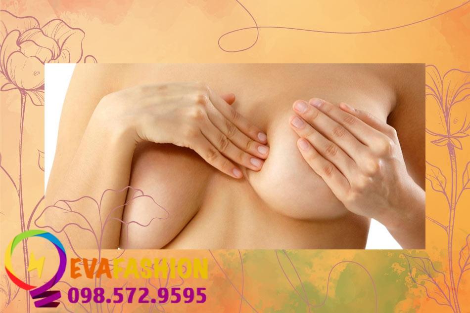 Tác hại khi không mặc áo ngực, ví dụ như ngực chảy xệ