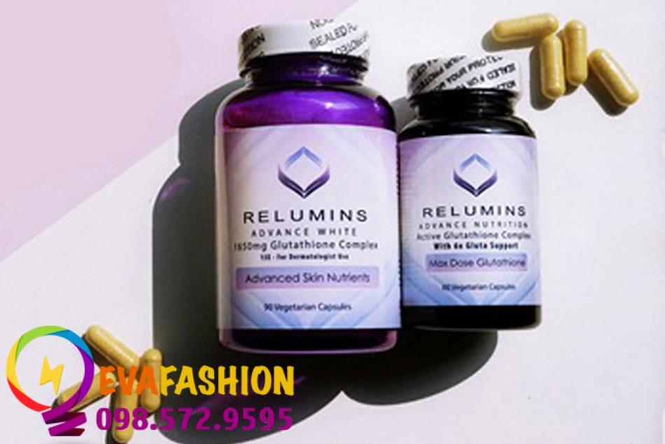 Hình ảnh viên uống Relumins Advance White