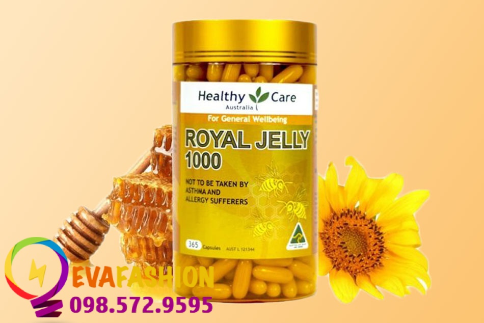 Sữa ong chúa Health Care Royal Jelly