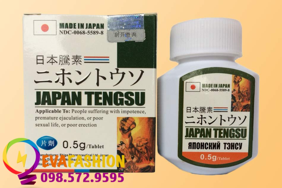 Thuốc ngậm cường dương Japan Tengsu Nhật Bản