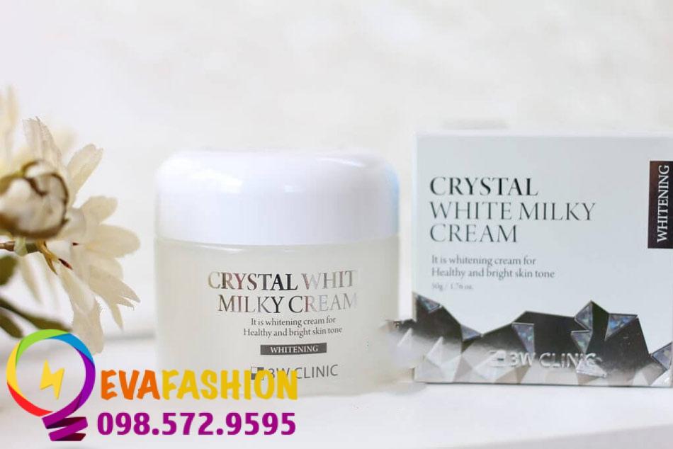 Hình ảnh 3W Clinic Crystal White Milky Cream