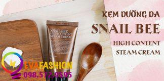 Benton Snail Bee High Content Steam Cream là dòng kem dưỡng da đặc biệt trong dòng sản phẩm Snail Bee.