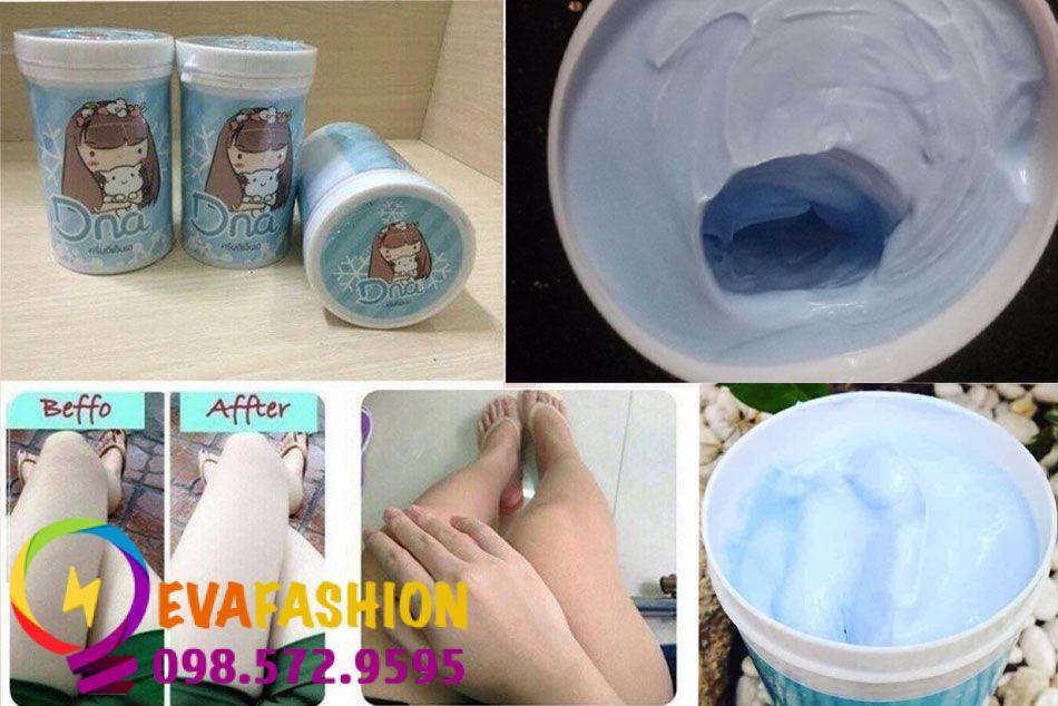 kem dưỡng trắng da DNA White Body Cream