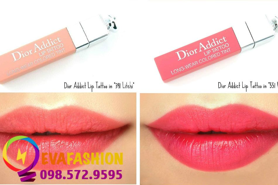 Son Dior Addict Lip Tattoo Long Wear Colored Tint
