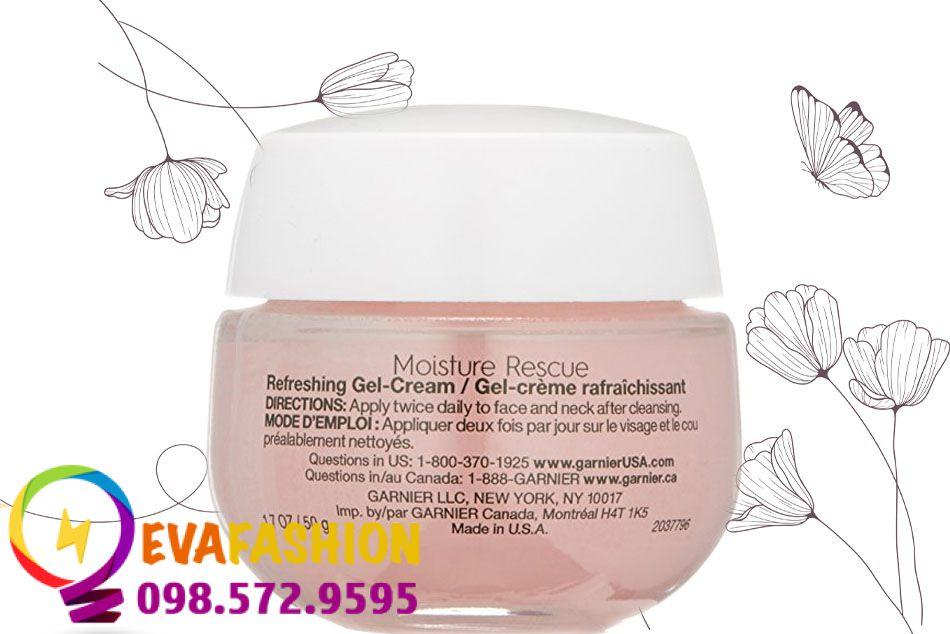 kem dưỡng Garnier Moisture Rescue Refreshing Gel - Cream dạng gel