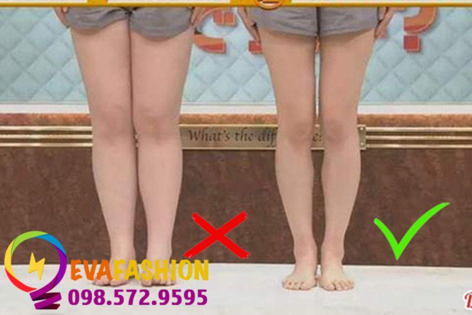 Đứng không đúng cách sẽ làm bắp chân to ra