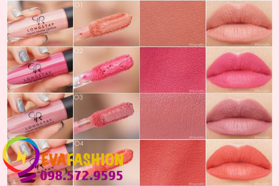 Son kem Golden Rose Longstay Liquid Matte Lipstick giá rẻ hơn so với mặt bằng chung.
