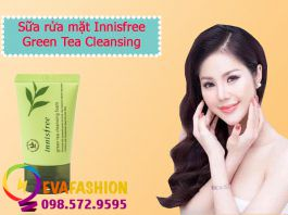Hình ảnh sữa rửa mặt Innisfree Green Tea Cleansing Froam