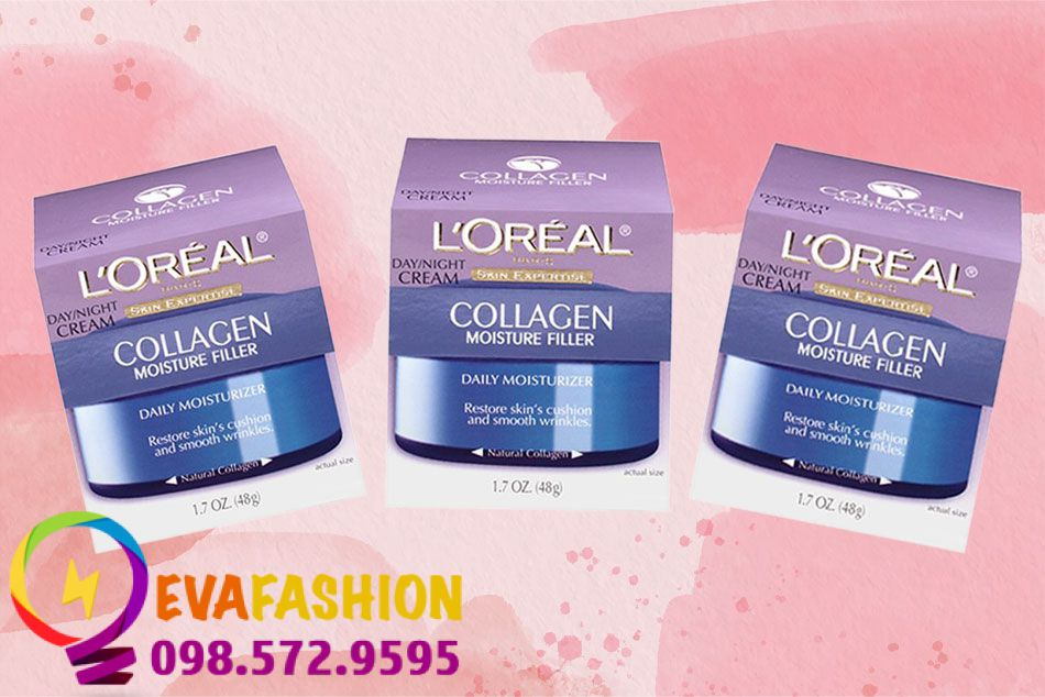 Kem dưỡng da L'Oreal Paris Collagen Moisture Filler Day - Night Cream