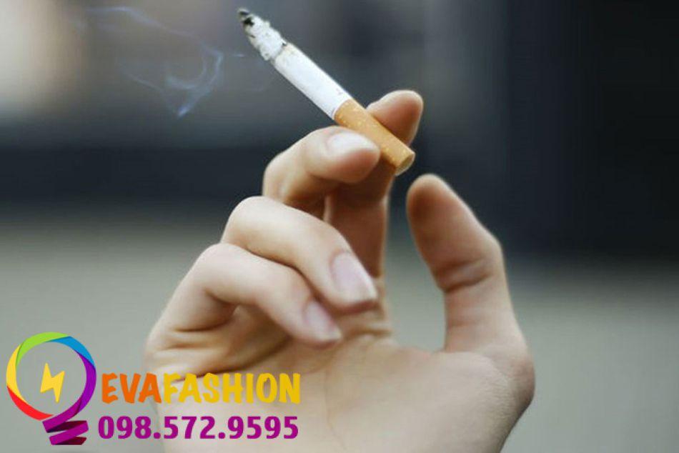 Hút thuốc là làm tăng tốc độ lão hóa da