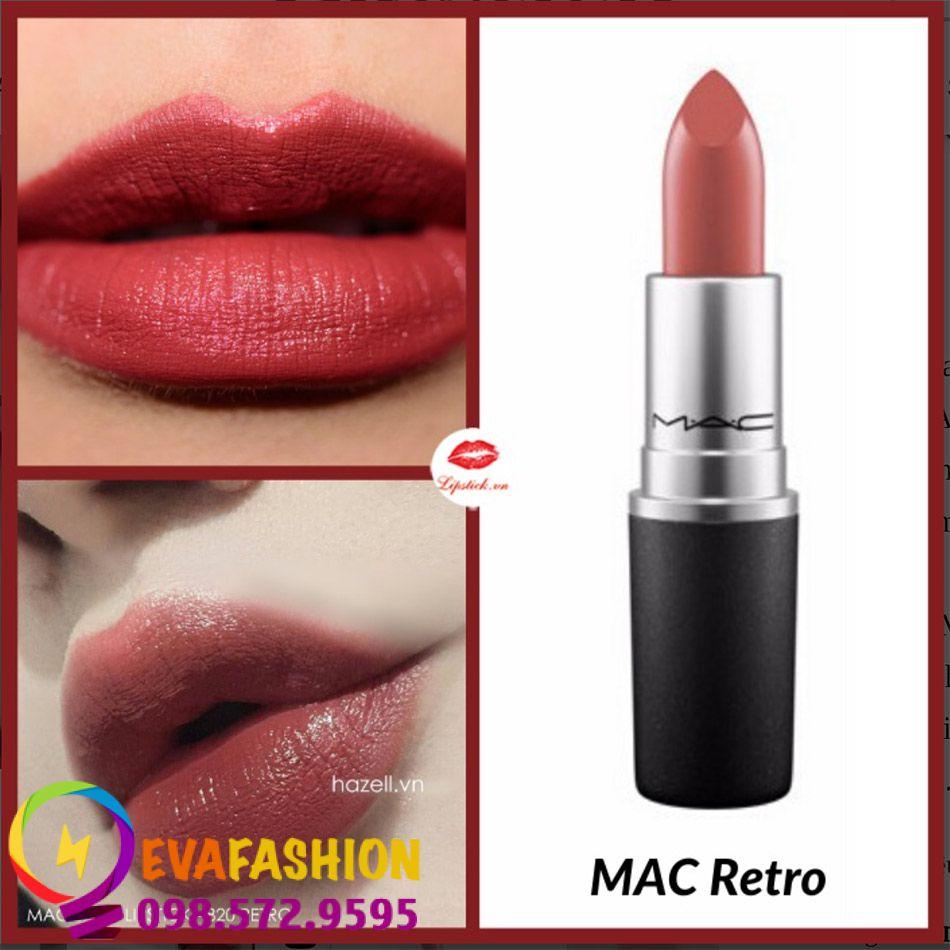 Son MAC Retro màu hồng đất
