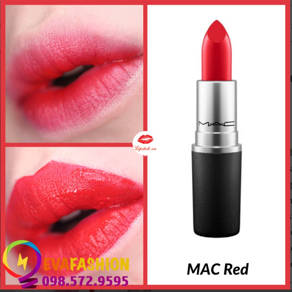 Son MAC Satin Lipstick Red