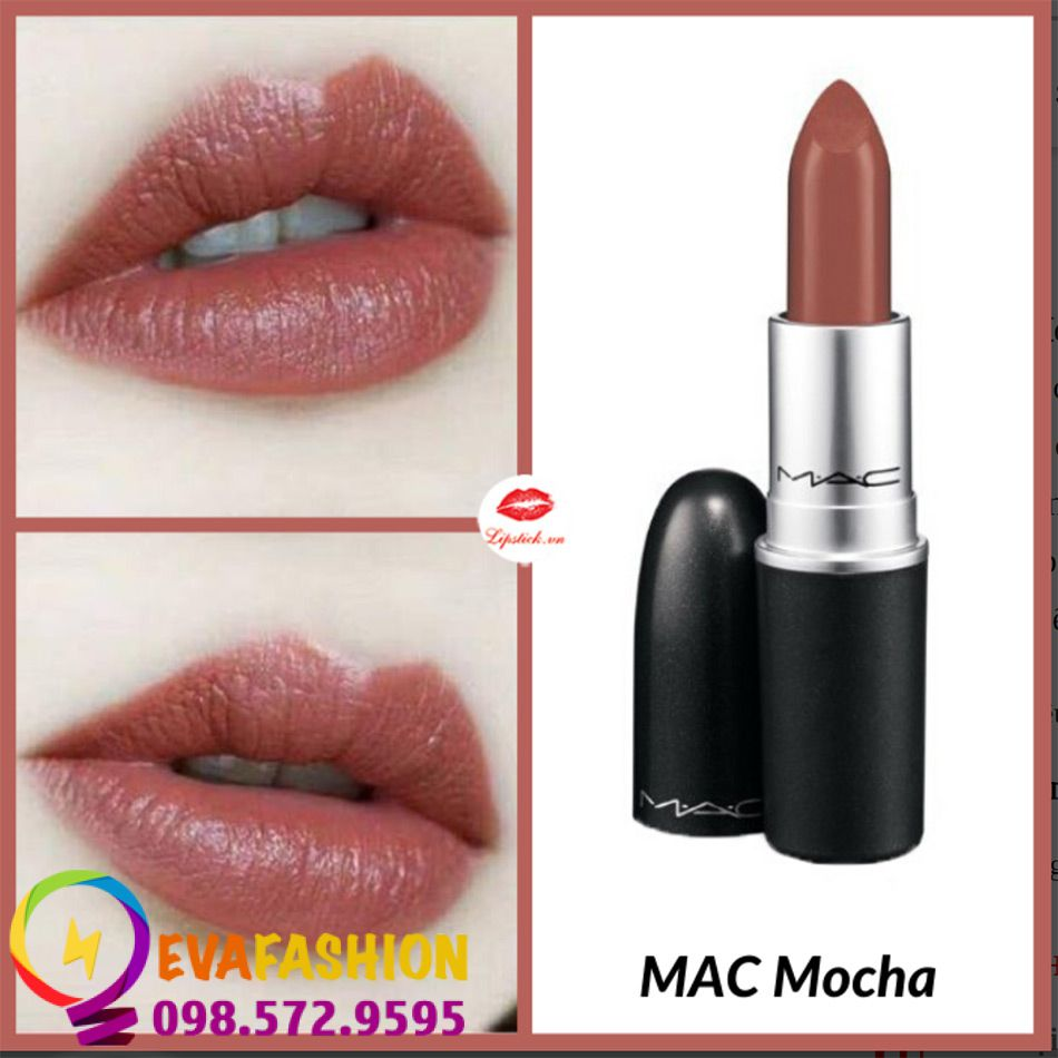 Son MAC Satin Lipstick Mocha