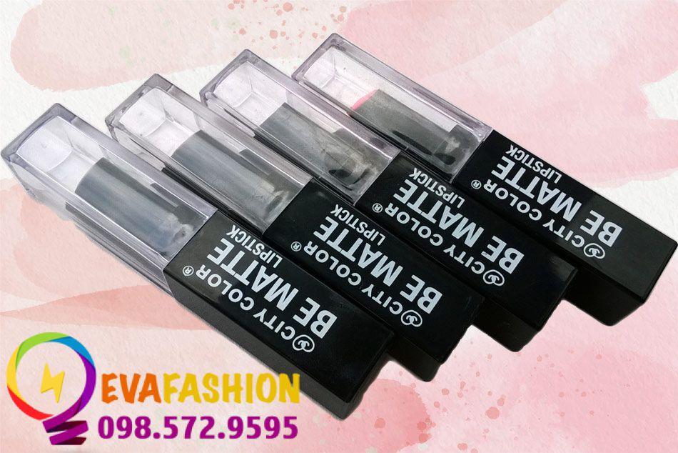 Son City Color Be Matte Lipstick là dòng son nổi tiếng do thương hiệu City Color sản xuất.