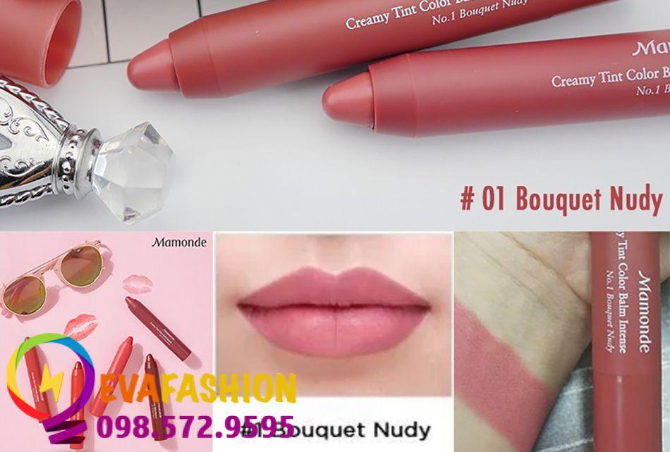 son bút chì Mamonde Creamy Tint Color BalmMàu 01 - Bouquet Nudy