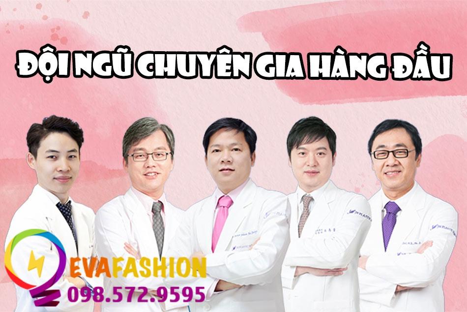 Đội ngũ bác sĩ ở thẩm mỹ viện JW nổi tiếng với chuyên môn và tay nghề cao