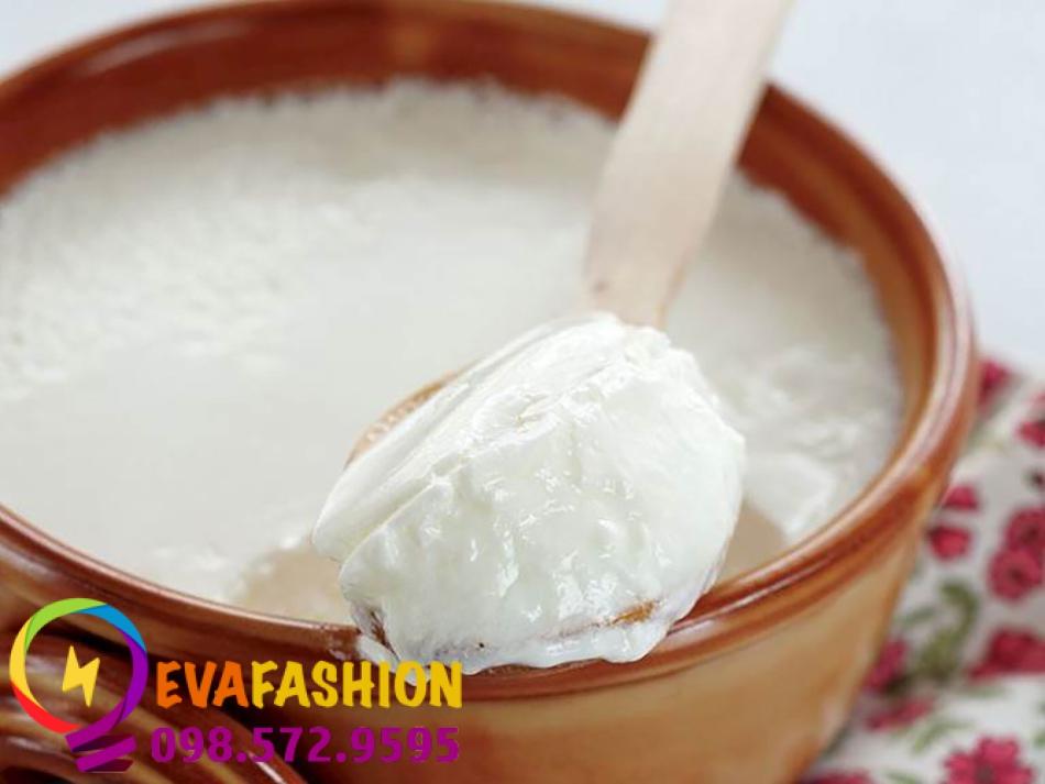 Trị thâm vùng kín bằng sữa chua