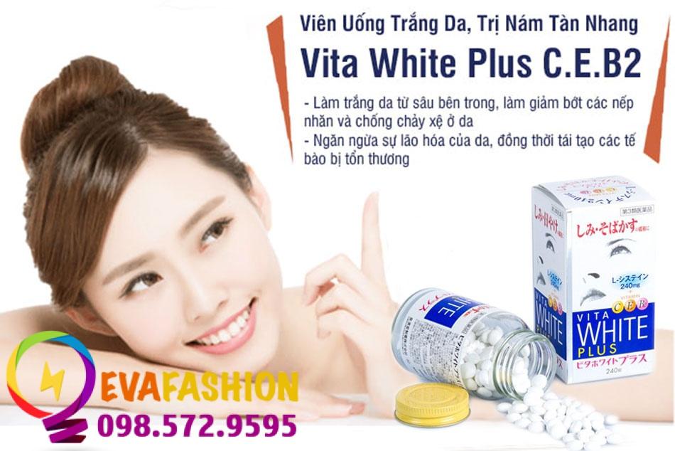 Công dụng tuyệt vời của Vita White Plus