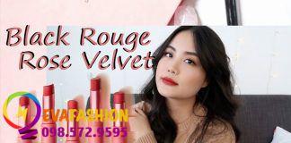 Son Black Rouge Rose Velvet Lipstick