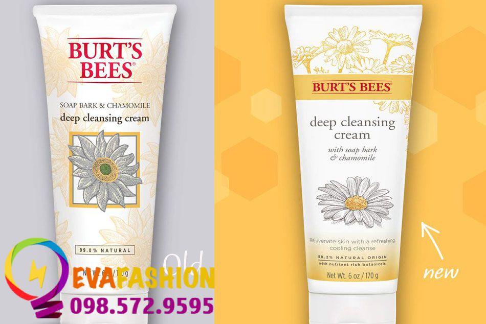 Sữa rửa mặt Burt's Bees Soap Bark & Chamomile Deep Cleansing Cream