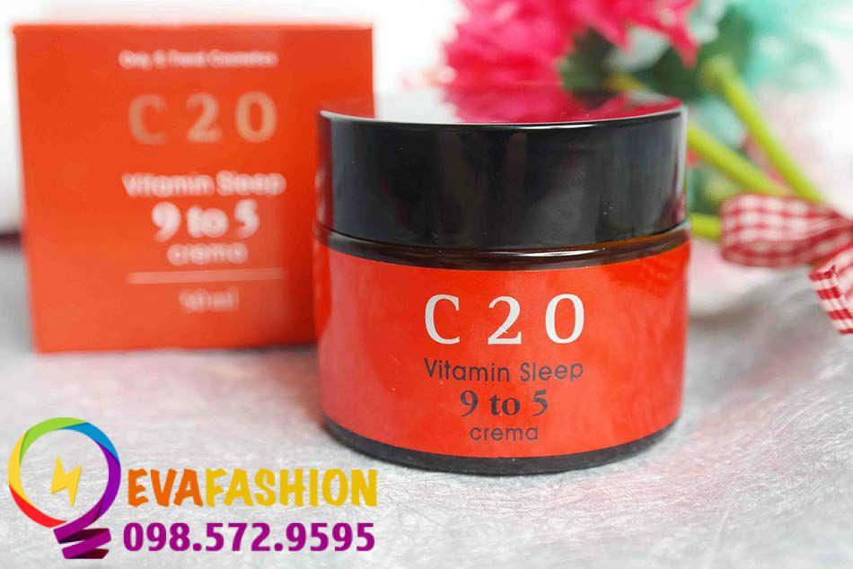 Hình ảnh Kem dưỡng C20 Vitamin Sleep 9 to 5 Crema