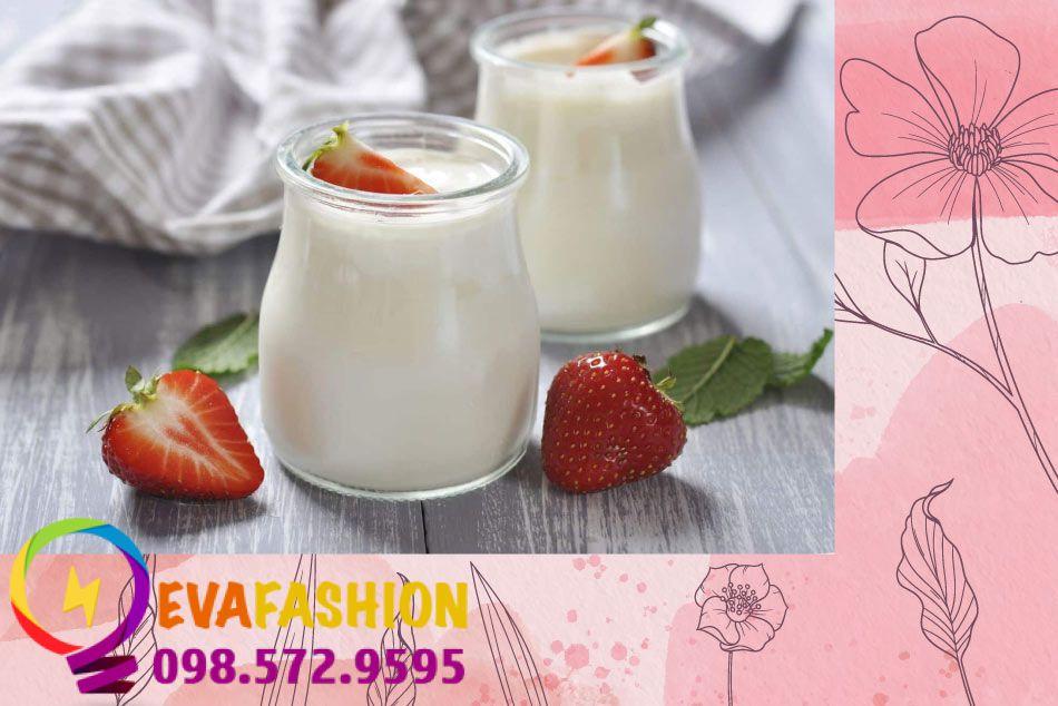 Ăn sữa chua không đường giúp làm trắng da từ bên trong