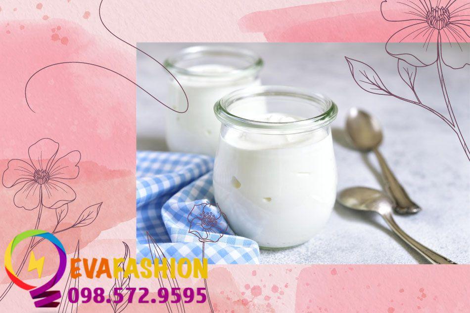 Tác dụng làm đẹp da của thành phần trong sữa chua