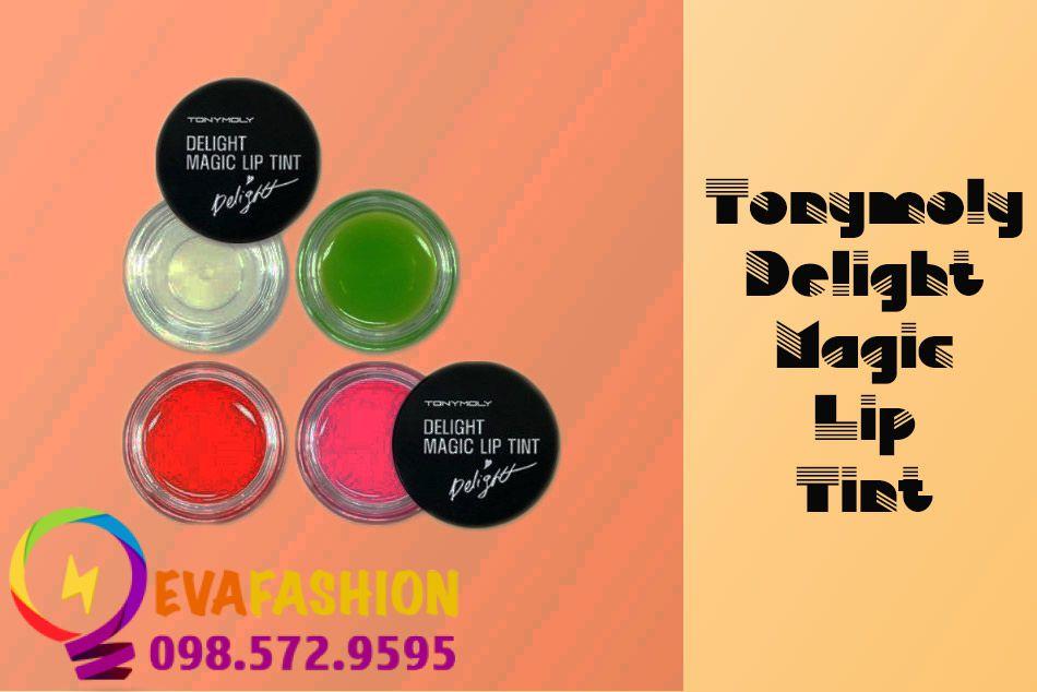 Hình ảnh son dưỡng Tonymoly Delight Magic Lip Tint