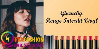 Hình ảnh son dưỡng Givenchy Rouge Interdit Vinyl