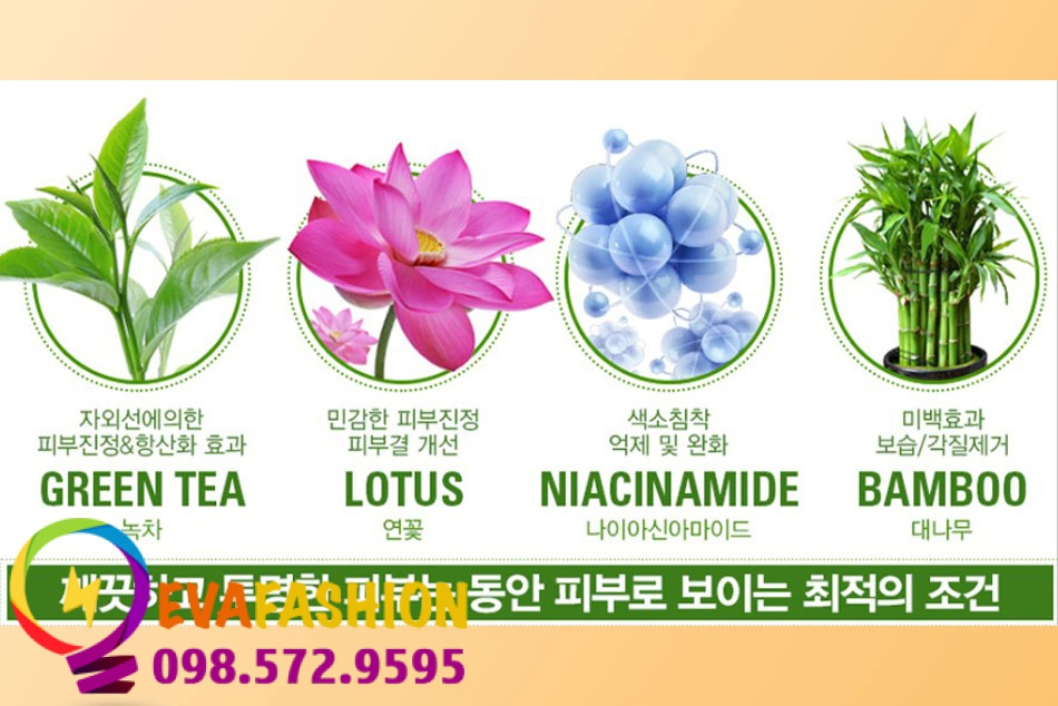 Hình ảnh Green Tea Magic Whitening Cream