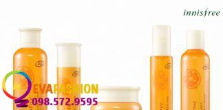 Hình ảnh kem dưỡng Innisfree Tangerine Vita C Gel Cream