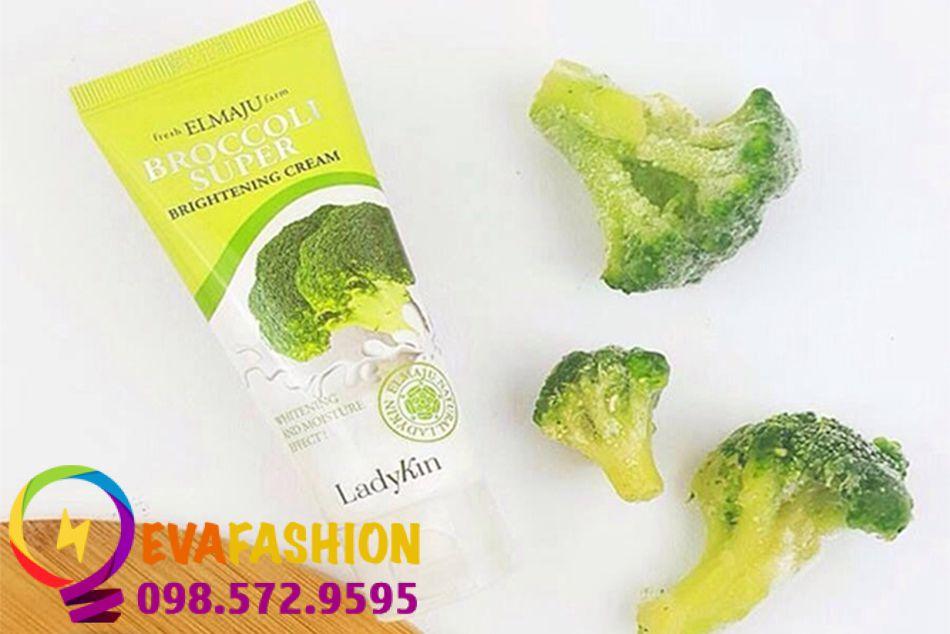Hình ảnh kem dưỡng trắng da Broccolin Super