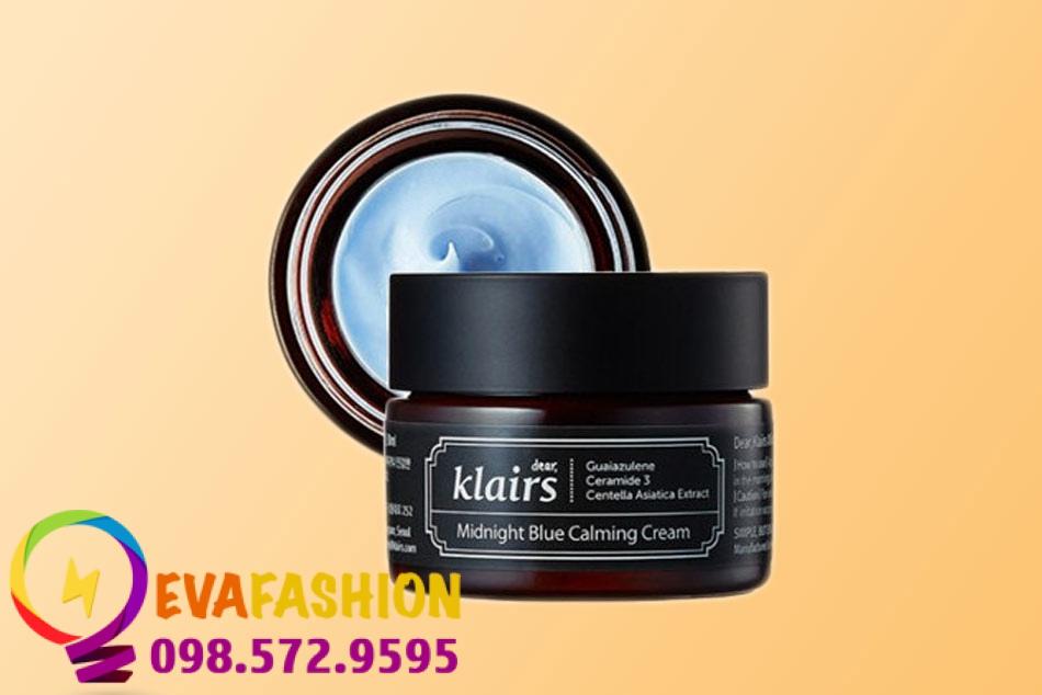 Hình ảnh Kem dưỡng ẩm Klairs Midnight Blue Calming Cream