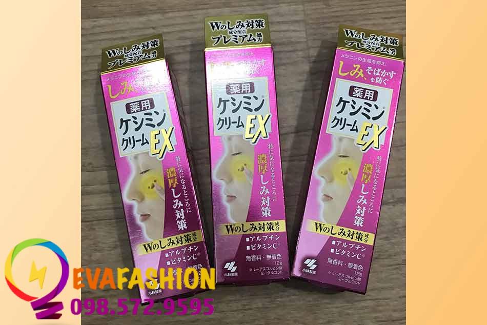 Hình ảnh kem trị nám Kobayashi Keshimin Cream