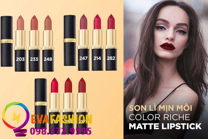 Hình ảnh son L'Oréal Color Riche Matte