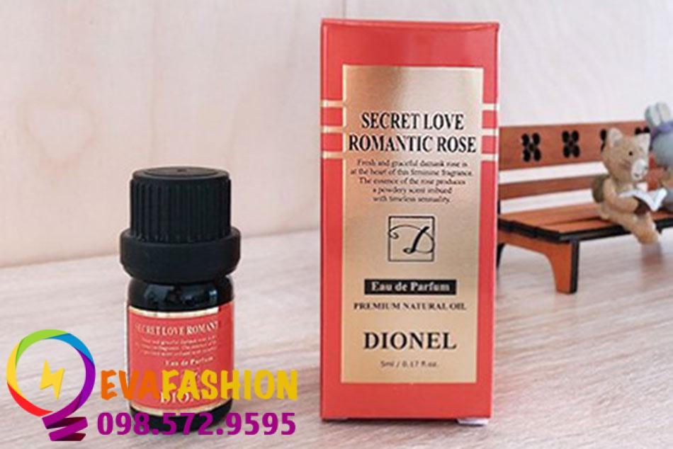 Hình ảnh nước hoa vùng kín Dionel Secret Love
