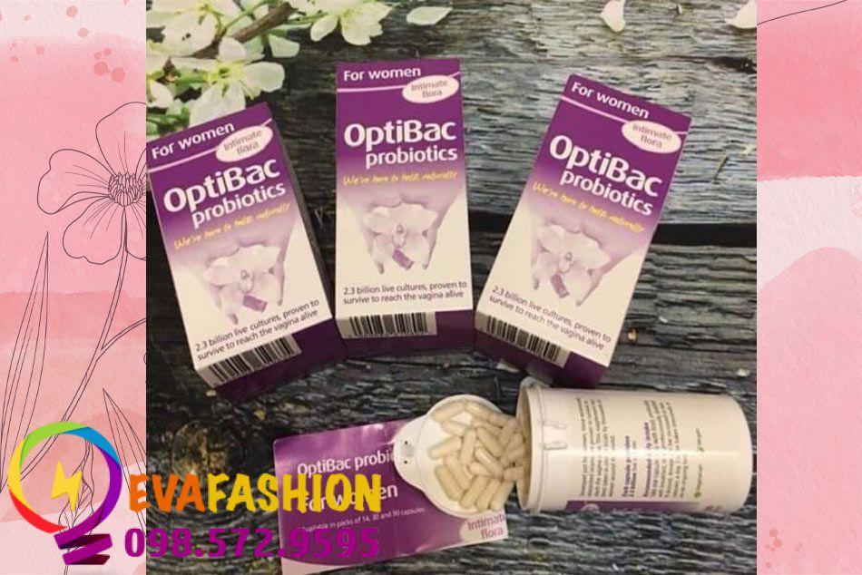 Hình ảnh sản phẩm Optibac Probiotics tím