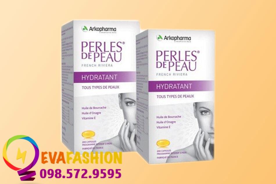 Hình ảnh viên uống collagen Perles de Peau
