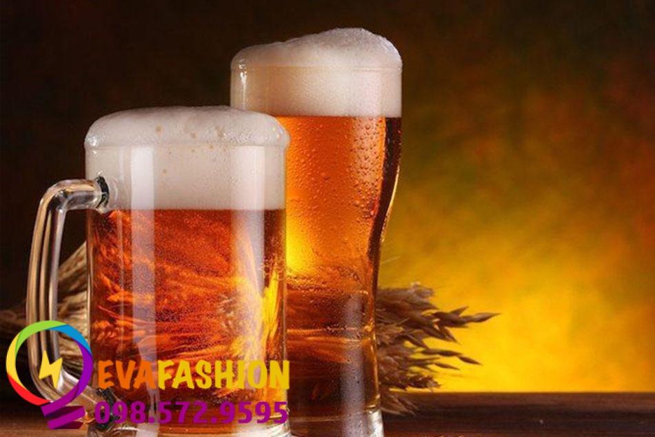 Trong bia có chuwaas cồn nên có thể gây kích ứng với da