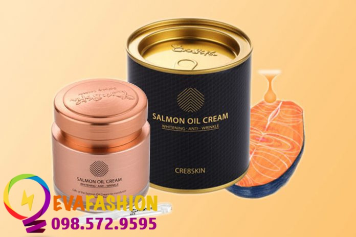 Hình ảnh Kem dưỡng cá hồi Salmon Oil Cream Cre8skin